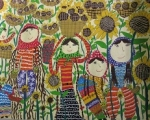 نوجوان شهرستان پارس آباد برگزیده مسابقه نقاشی هیکاری کشور ژاپن شد
