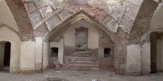 حمام تاریخی خواجه نصیر مراغه را بیتوجهی تخریب میکند